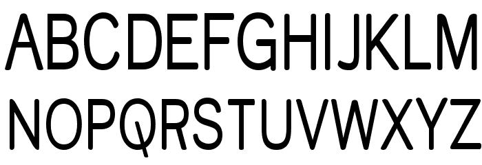 Street Variation - Narrow Font UPPERCASE