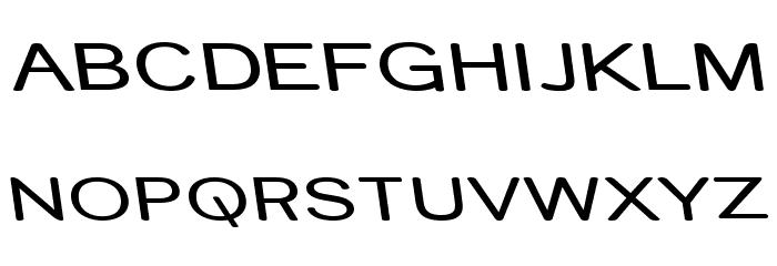 Street Variation - Rev Exp Font UPPERCASE