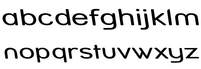 Street Variation - Rev Exp Font LOWERCASE