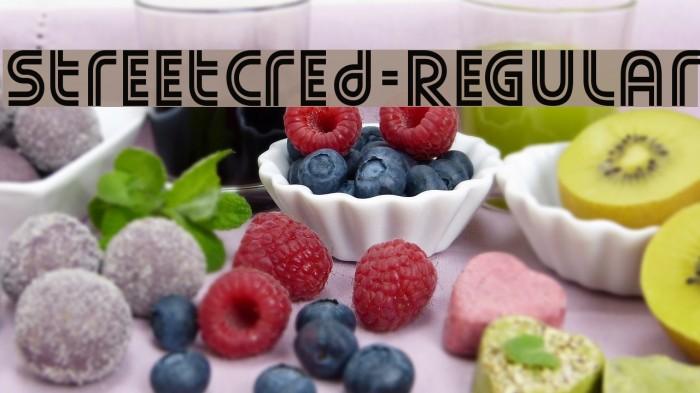 StreetCred-Regular फ़ॉन्ट examples