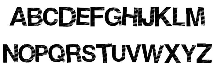 StripeDisco Font UPPERCASE