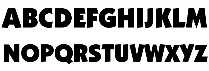 Strippenzieher Ultra Font Litere mari
