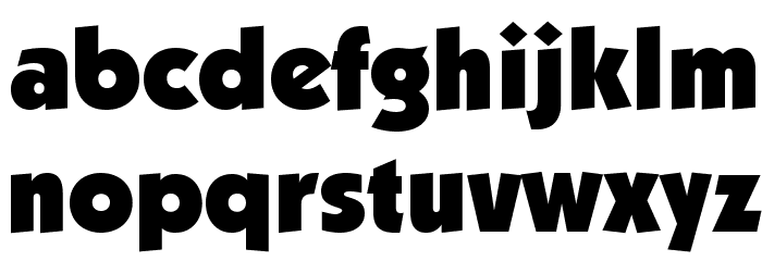 Strippenzieher Ultra Font LOWERCASE