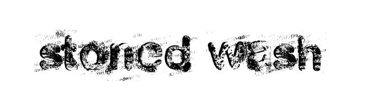 stoned wash  नि: शुल्क फ़ॉन्ट्स डाउनलोड