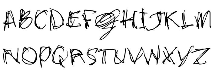 stonehandSaul_TRIAL Schriftart Groß