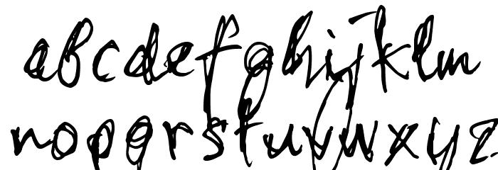 stonehandSaul_TRIAL Schriftart Kleinbuchstaben