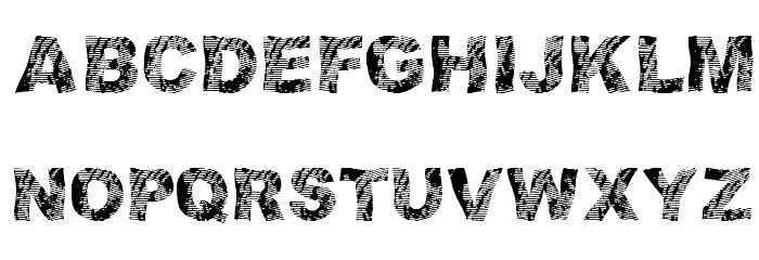 strippindirty Font Litere mari