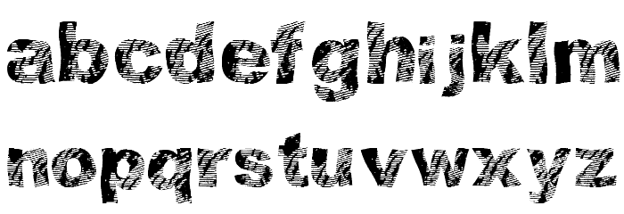 strippindirty Font Litere mici