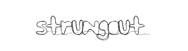 strungout  Free Fonts Download