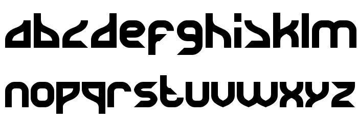 SUPERHERO Font LOWERCASE