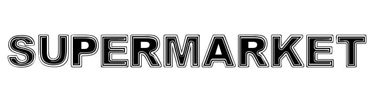 SUPERMARKET  Free Fonts Download