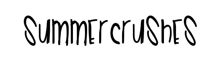 SummerCrushes  les polices de caractères gratuit télécharger