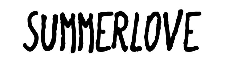 SummerLove  フリーフォントのダウンロード