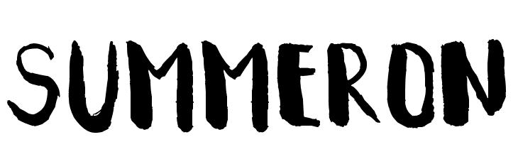 Summeron  لخطوط تنزيل
