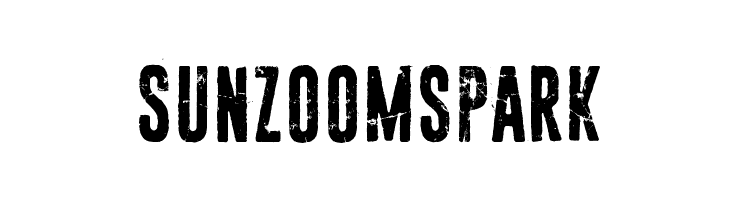 Sun zoom spark  Скачать бесплатные шрифты