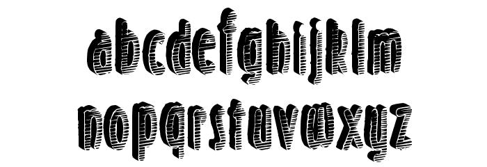 SunsetBreak Font LOWERCASE