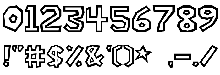 Super-Mario-Bros- Font OTHER CHARS