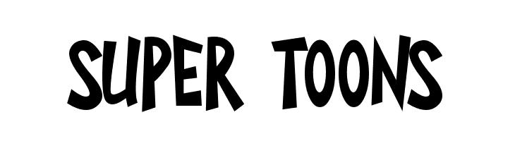 Super Toons Шрифта