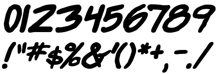 Super Webcomic Bros. Bold 字体 其它煤焦