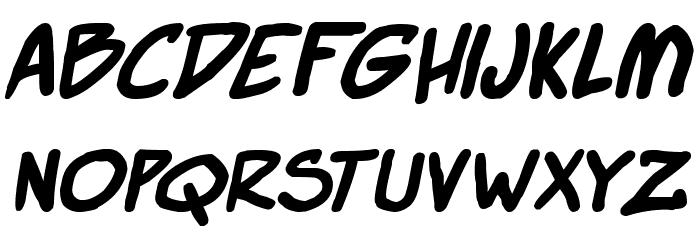Super Webcomic Bros. Bold 字体 小写