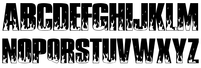 SuperHawgA Font LOWERCASE