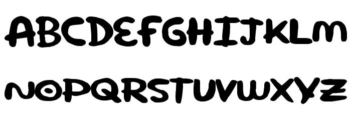 SuperRound Font UPPERCASE