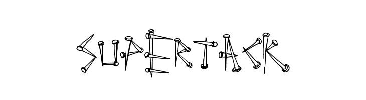 SuperTack  Free Fonts Download