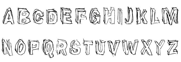 Suppenkasper Font Litere mari