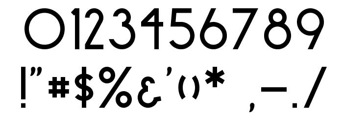 surrounding__ regular Font OTHER CHARS