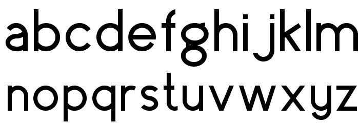 surrounding__ regular Font LOWERCASE
