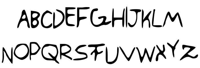 SwaggerCapitals Font LOWERCASE