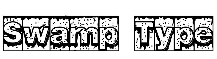 Swamp Type  नि: शुल्क फ़ॉन्ट्स डाउनलोड