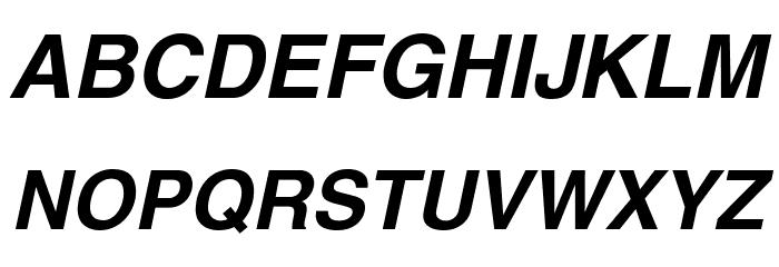 Swansea Bold Italic Font Litere mari