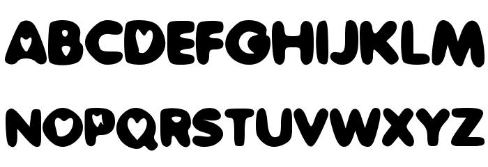 SweetLove Font UPPERCASE