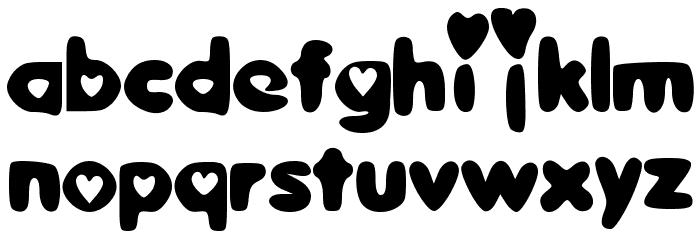 SweetLove Font LOWERCASE