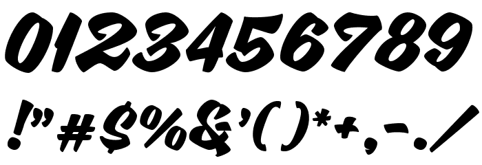 SweetSorrow Font OTHER CHARS