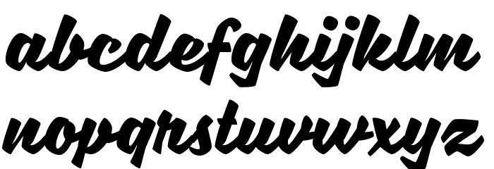SweetSorrow Font LOWERCASE