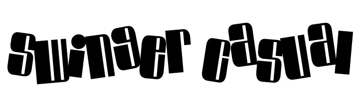 Swinger Casual  Free Fonts Download