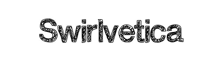 Swirlvetica  Free Fonts Download