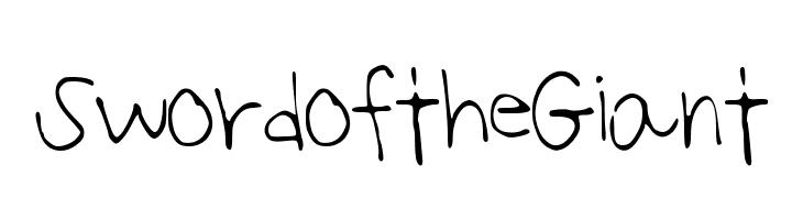 SwordoftheGiant  les polices de caractères gratuit télécharger