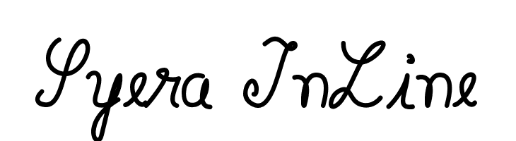 Syera InLine  Frei Schriftart Herunterladen
