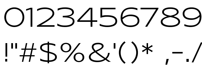 Syncopate-Regular Font OTHER CHARS