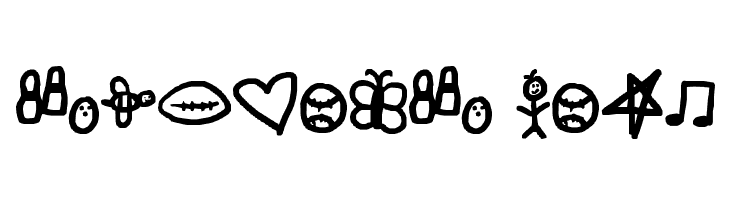 symbols rock  baixar fontes gratis