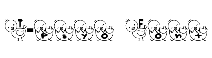 T-piyo Font  Frei Schriftart Herunterladen