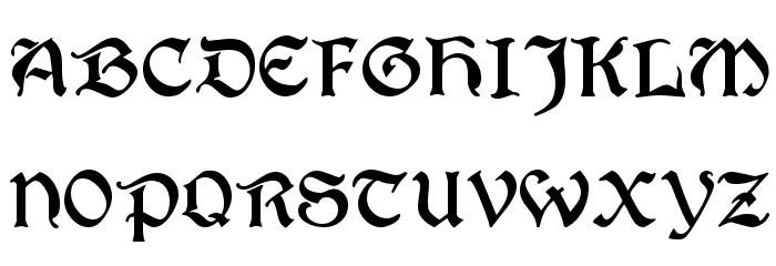 T4C Beaulieux Schriftart Groß