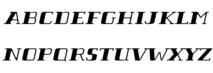 Tabaiba wild ffp Italic Font Litere mari