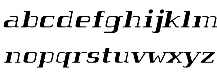 Tabaiba wild ffp Italic Шрифта строчной