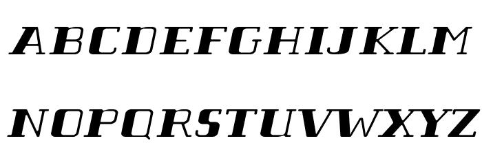 Tabaibawildffp-Italic फ़ॉन्ट अपरकेस