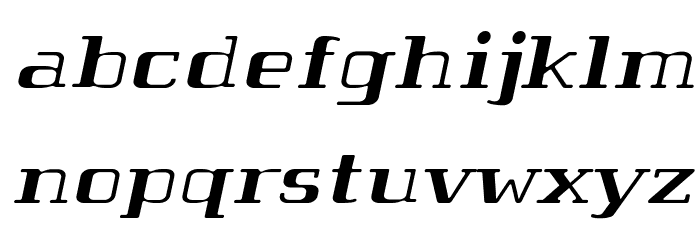 Tabaibawildffp-Italic फ़ॉन्ट लोअरकेस