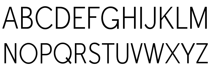 Tabarra NarrowLight Font UPPERCASE